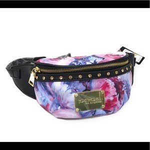 bebe® Floral Multi Color Flowers Ryan Fanny Pack